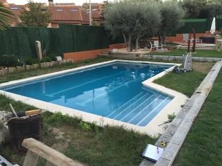 Reforma de piscina Ametller - Antes