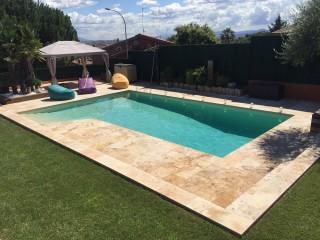 Reforma de piscina Ametller - Después
