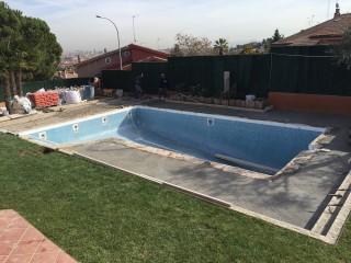 Reforma de piscina Ametller - Durante