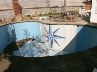 Reforma de piscina Baptista - Antes