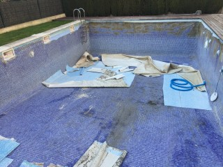 Reforma de piscina Enjoy Llars - Antes