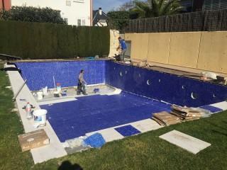 Reforma de piscina Enjoy Llars - Durante