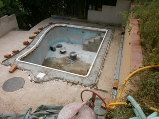 Reforma de piscina Gadea - Durante