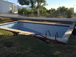 Reforma de piscina Min - Antes