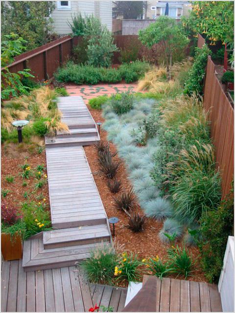 Jardines eficientes ejemplo de xerojardín sostenible